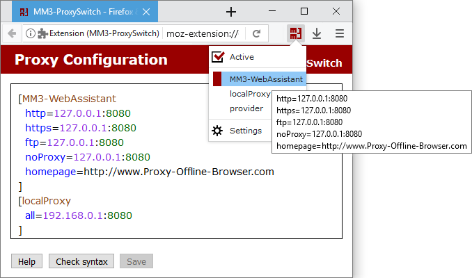 MM3-ProxySwitch - Firefox & Chrome WebExtension (Add-ons)
