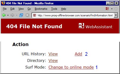 MM3-WebAssistant - Proxy Offline Browser