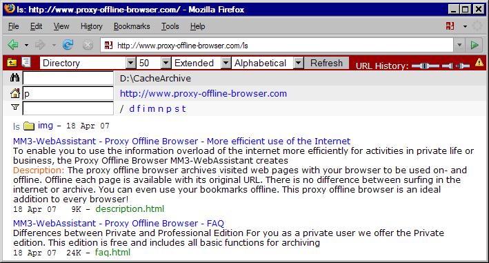 Directory: http://www.Proxy-Offline-Browser.com/ls
