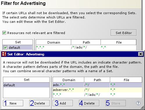 Surf Set / Filter / Advertising