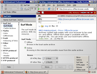 MM3-WebAssistant - Proxy Offline Browser - Archiving by Browsing